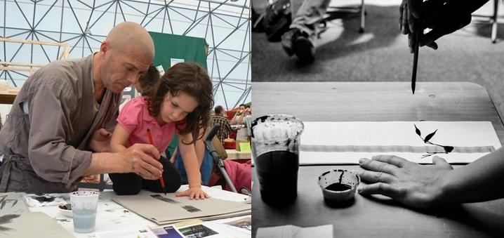 Workshop di Pittura Sumi-e al Festival Scirarindi